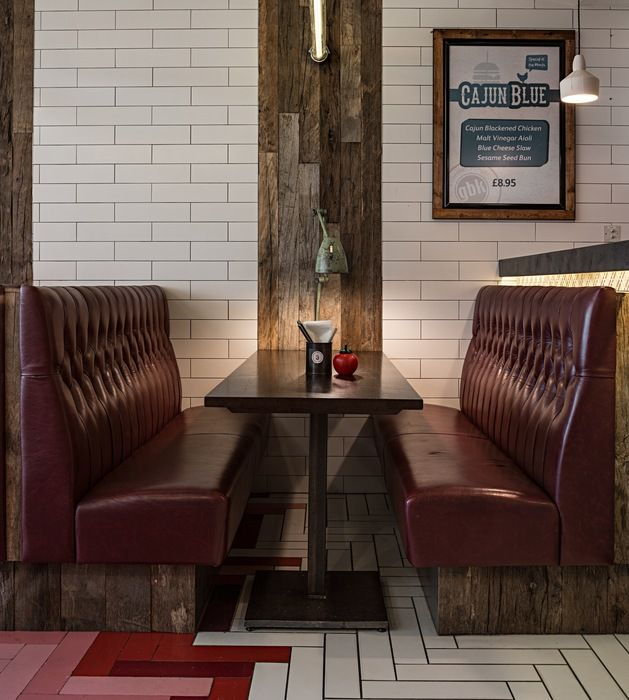 Gourmet Burger Kitchen Angel (London), Restaurant or Bar in a retail space | Restaurant & Bar Design Awards