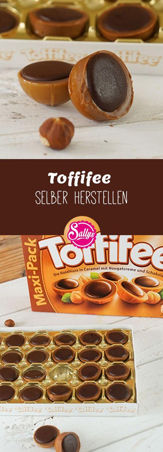 Toffifee selber machen! Die eigenen Toffifee's schmecken mindestens genau so gut wie die aus dem Handel!