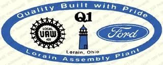 A Lorain Assembly Sticker From The Thunderbird Days In The 90s Lorain Social Security Card Assembly