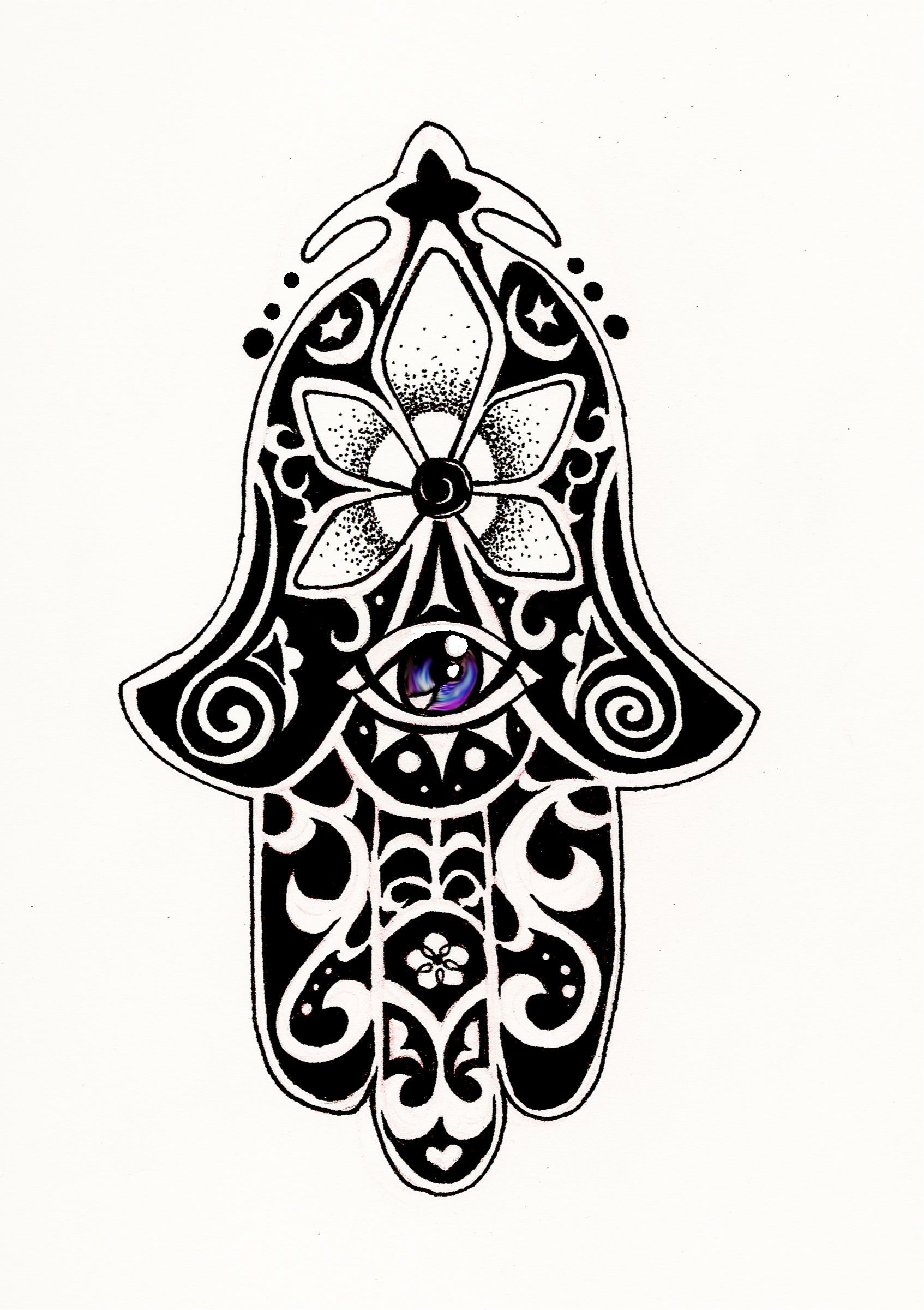 Hamsa Tattoo Images | Ink and placement | Pinterest ...