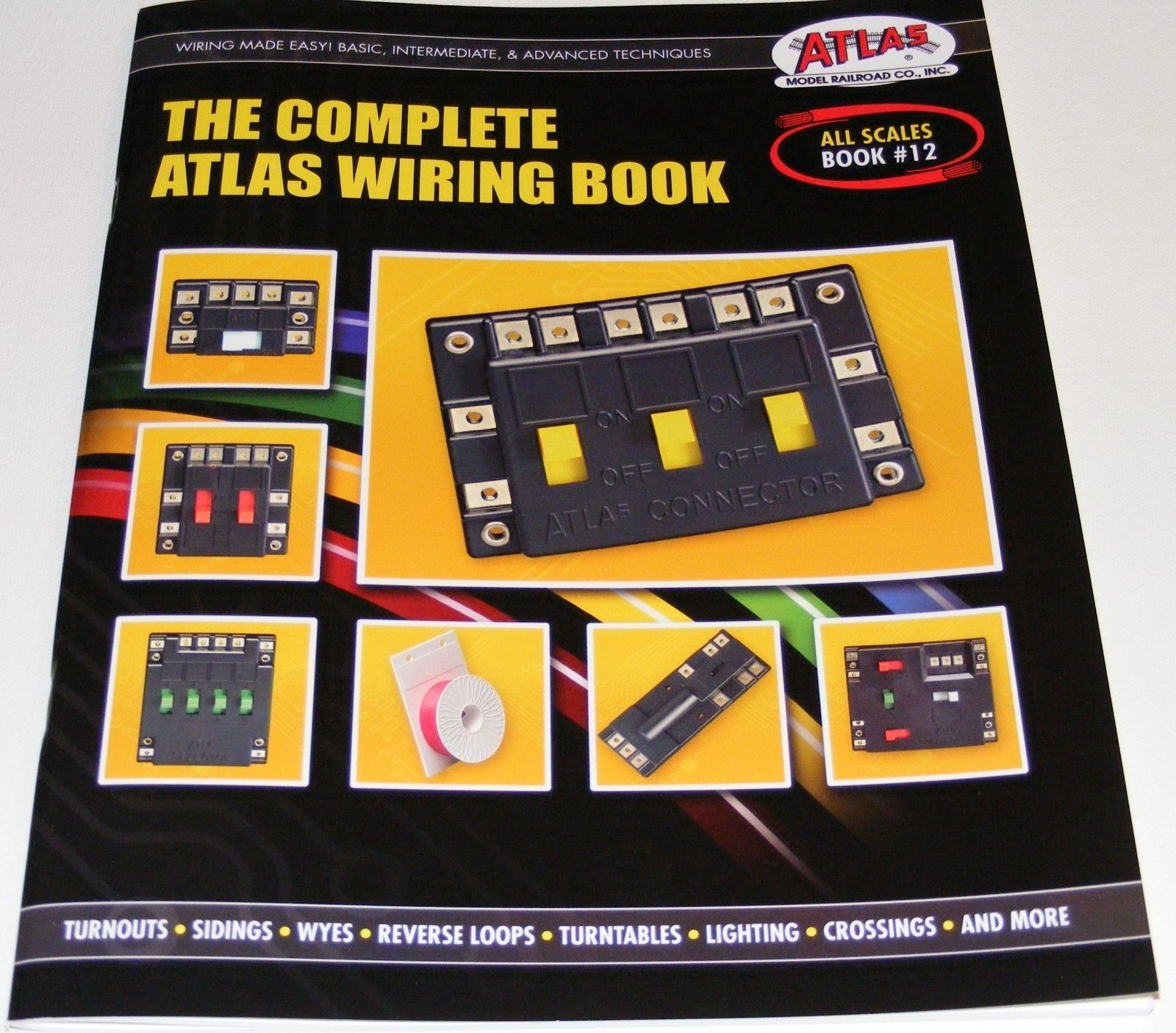 atlas 12 the complete atlas wiring book for two rail dc layout any rh in pinterest com