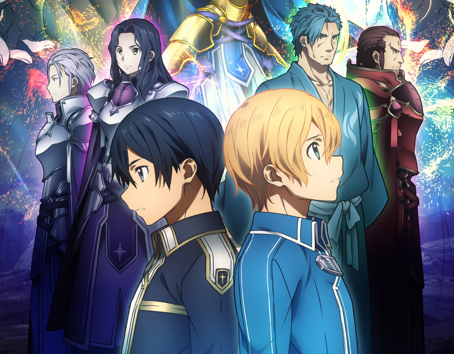 Sword Art Online Alicization Wallpapers In 2020 Sword Art Online Sword Art Online Wallpaper Sword Art