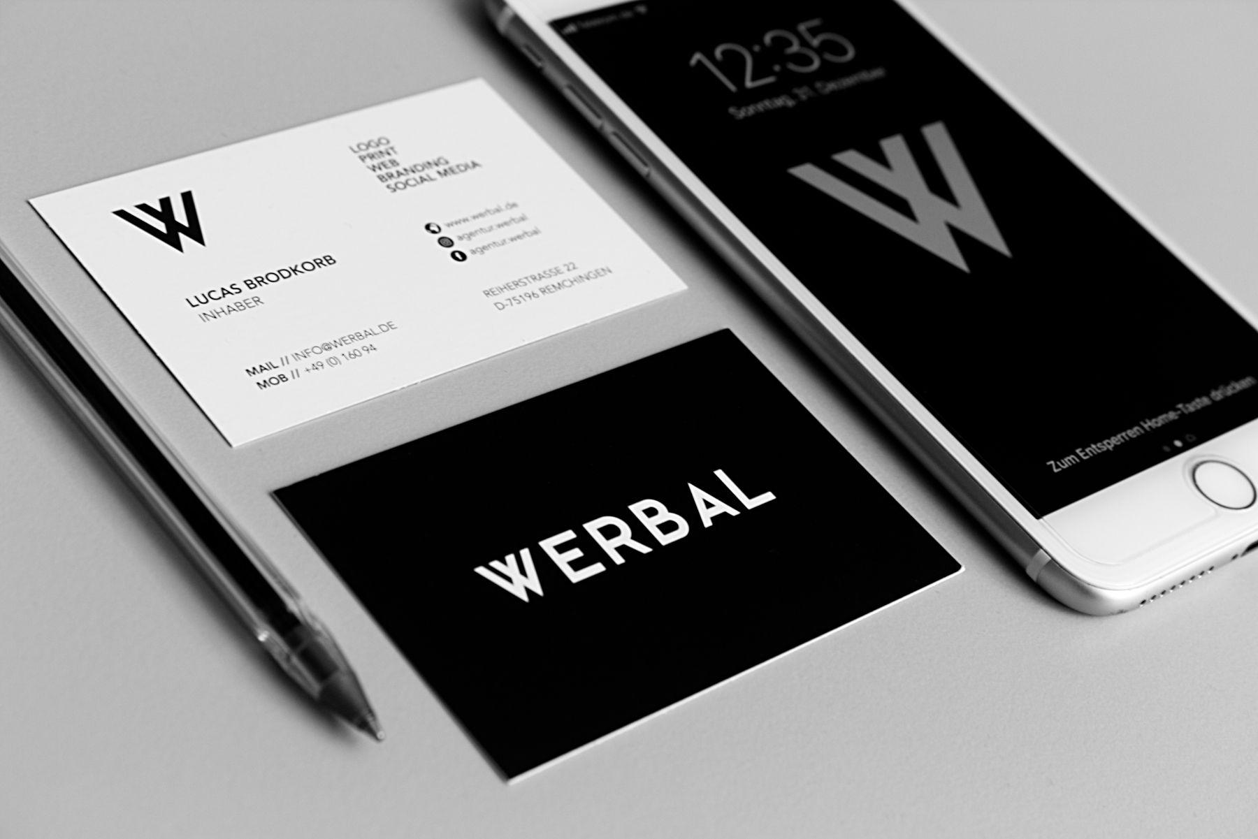 Von Individuell Designten Visitenkarten über Professionelle