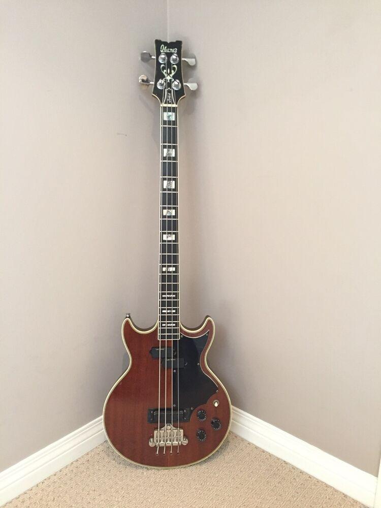 Very Rare Vintage 1970 S Ibanez Artist 2615b Bass Guitar Ebay Ibanez Guitars Guitar Bass Guitar