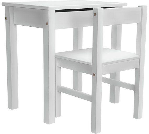 Buy Argos Home Scandinavia Desk Amp Chair White Kids