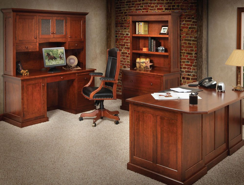Find The Best Solid Wood Amish Office Furniture At Simonet S In Stillwater Mn