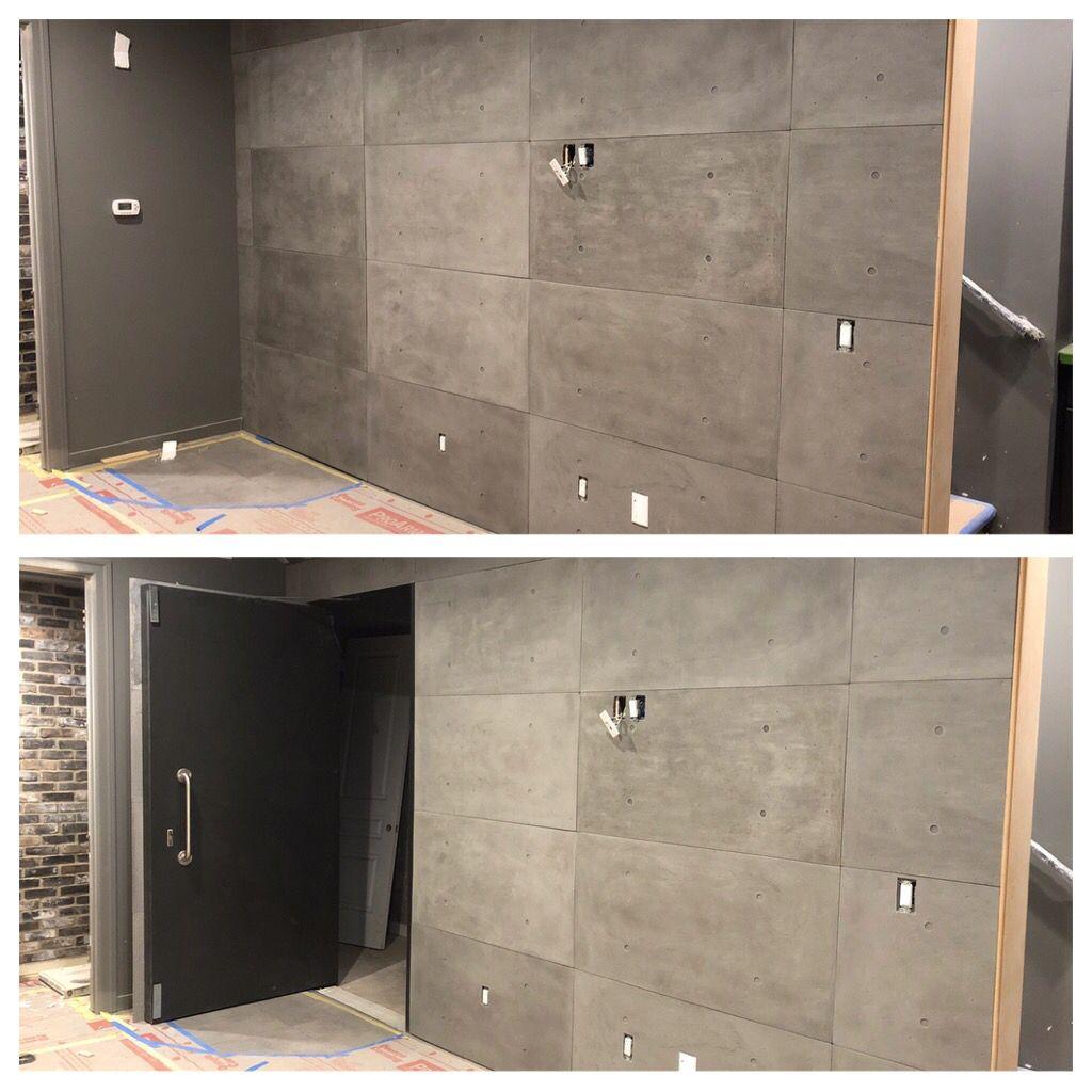 Secret Passageway Concrete Paneled Wall In 2020 Hidden Doors In Walls Home Engineering Hidden Door