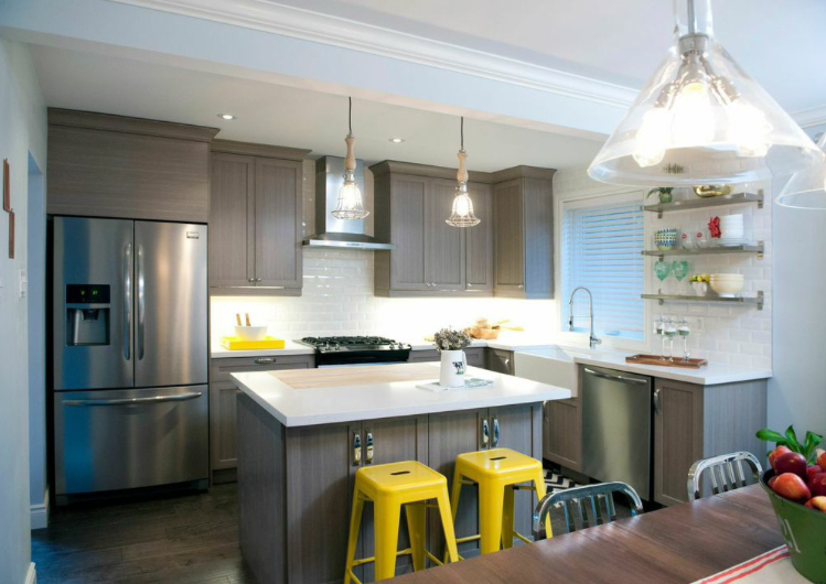 Kitchen By The Property Brothers S48E48 Krista And Jennifer Beauteous 1970S Kitchen Remodel Minimalist Property