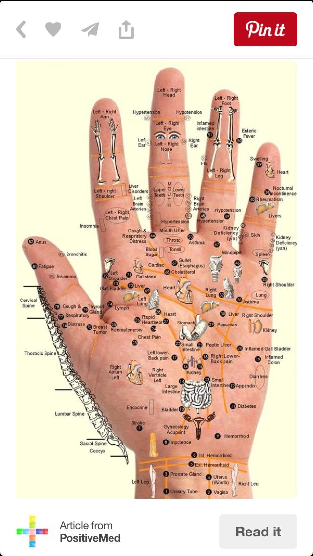 Pin by nancy baker on Essential oils | Hand reflexology ...