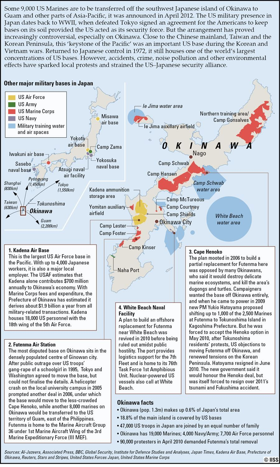 US Military Bases In Okinawa Maps They Tell The Story Of Our - Us military bases in okinawa map