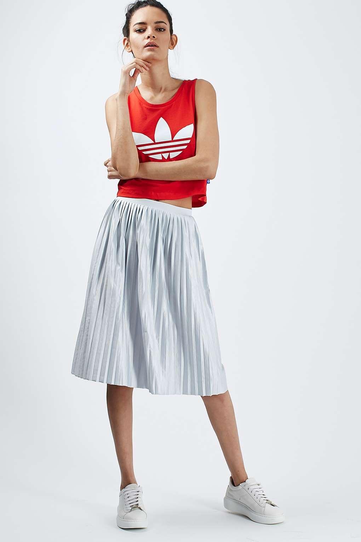 e004c6a752 PETITE Jersey Pleated Midi Skirt | Petite Style | Midi skirt ...