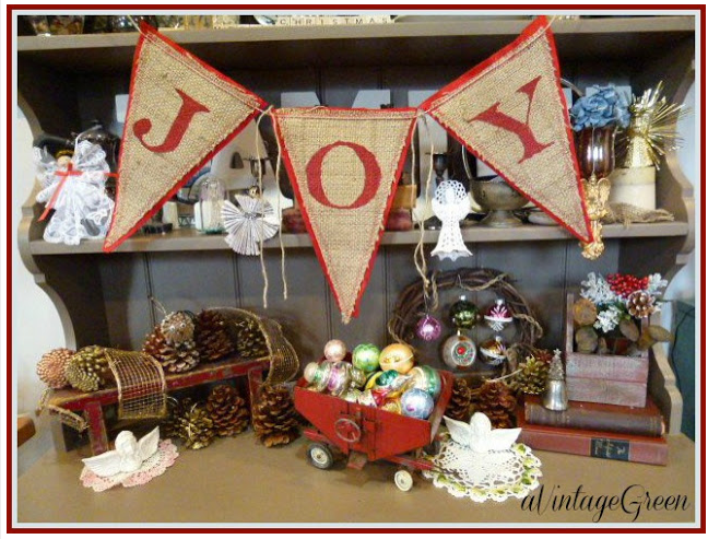 Creative Cain Cabin: Christmas Decorating On A Budget