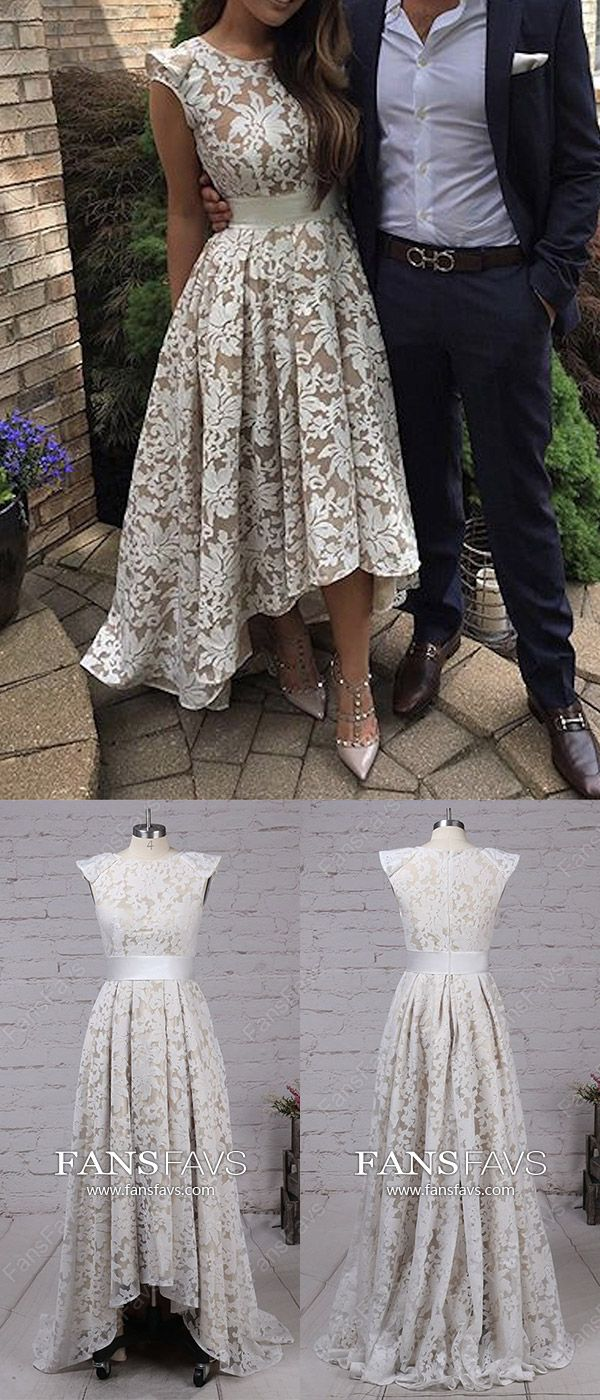 High low prom dresseswhite prom dresses uniquemodest prom dresses