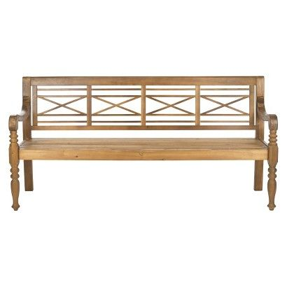 Catalonia Wood 4 Seater Patio Bench Patio Bench Patio Furniture