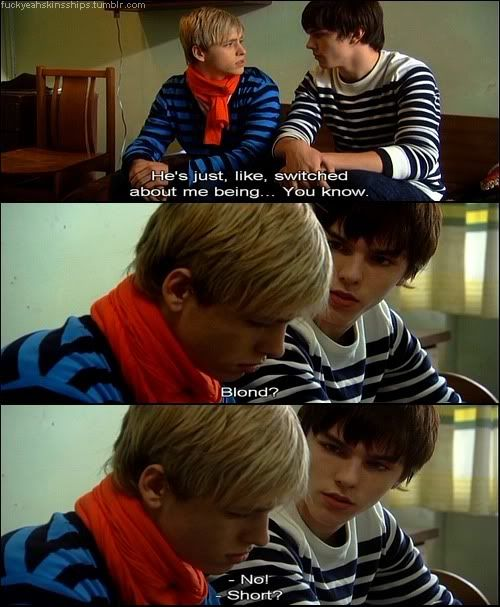Tony and Maxxie | Skins | Skins quotes, Skins generation 1 ...