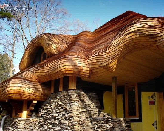 Storybook Design Ideas Pictures Remodel And Decor Cedar Roof Storybook Homes Cedar Shingles