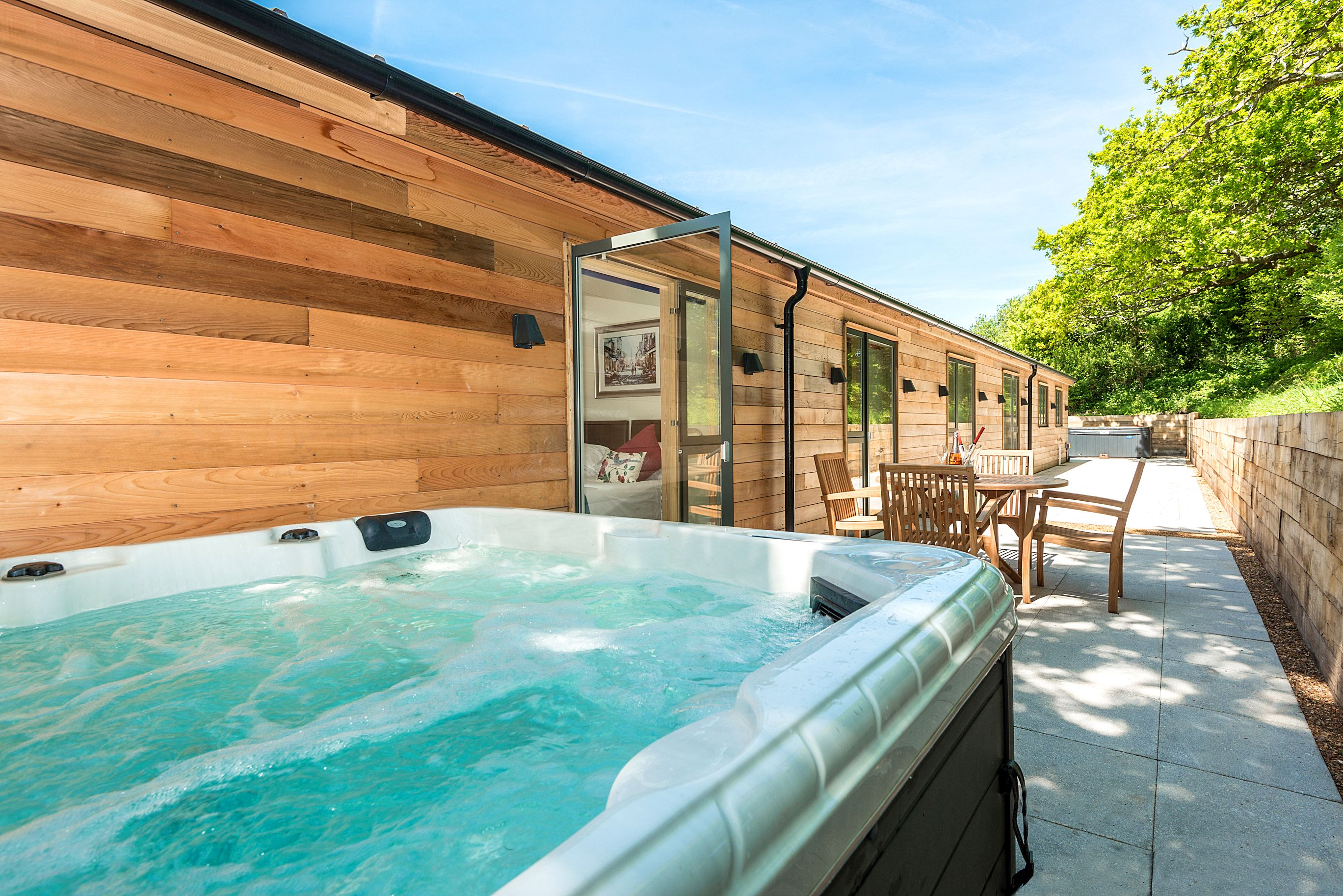 Just Click On The Hot Tub Image Walk Through With Us On A Tour Of The Newest Addition To Our Cot Luxury Holiday Cottages Cottage In The Woods Luxury Cottage