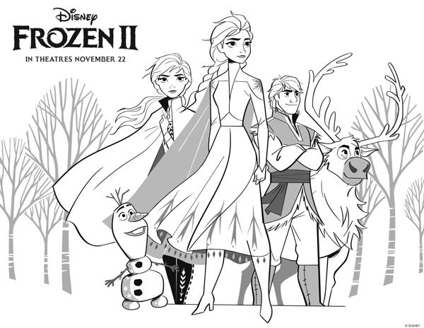 Frozen 2 Coloring Pages Elsa Coloring Pages Disney Coloring Pages Frozen Coloring