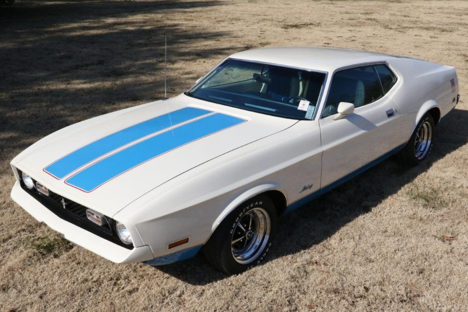 1972 Ford Mustang Sprint Sportsroof Ford Mustang Blue Mustang