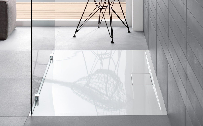 Villeroy Amp Boch Architectura Metal Rim Douchebak 90x90x1 5