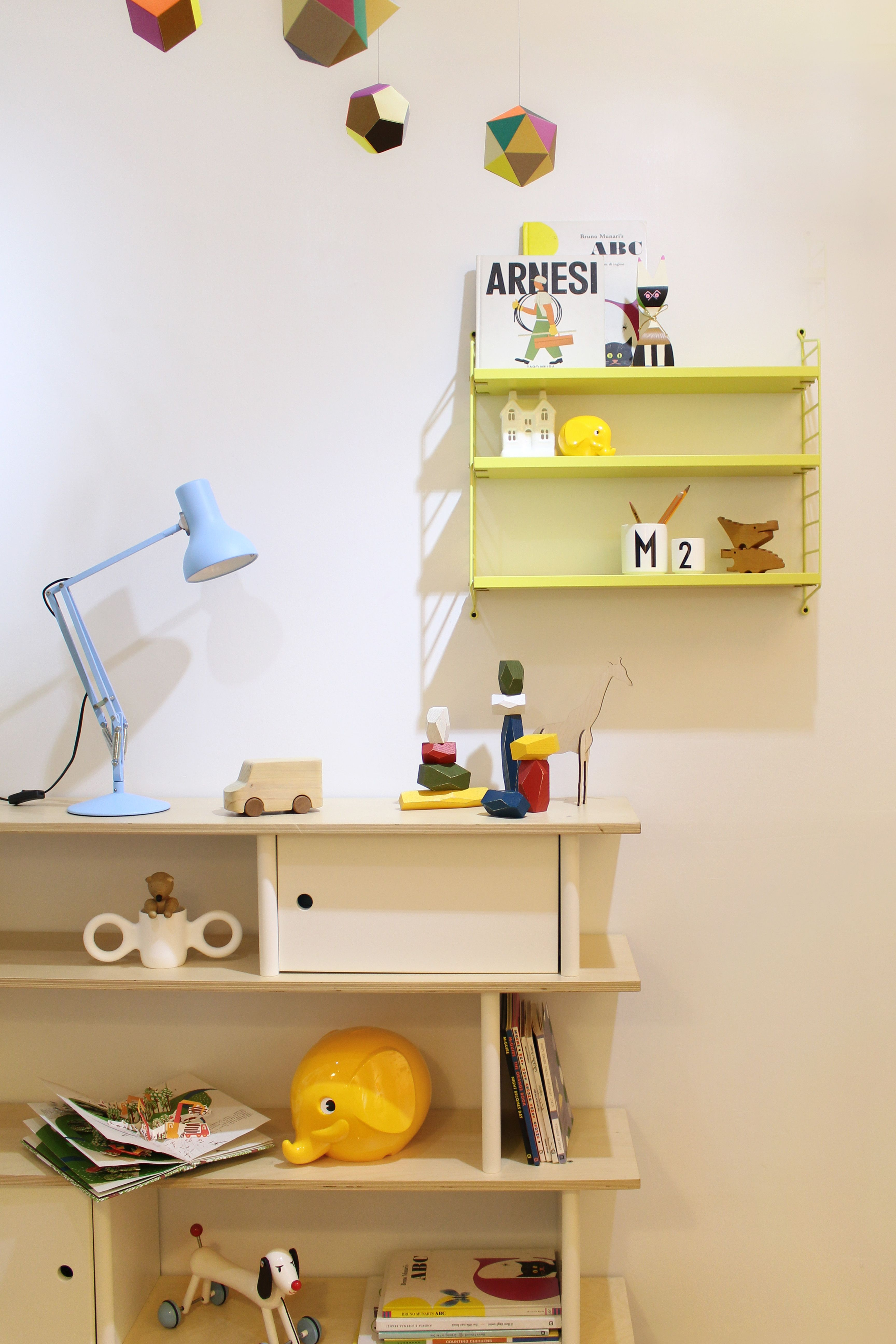 FOR KIDS  2. Kids Library #artecnica #string #oeuf #library #corraini #vitra #palaset #designletters #areaware #anglepoise #tobeus #dombocup