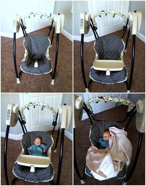 Diy Baby Swing Seat Cover Baby Swings Baby Swing Seat Diy Baby Stuff