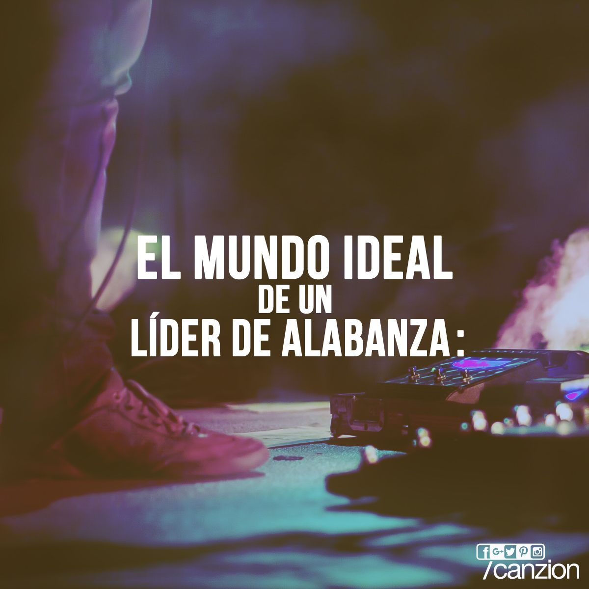 Un poco de humor, compártelo con tus amigos del #GrupoDeAlabanza. #EnUnMundoIdeal