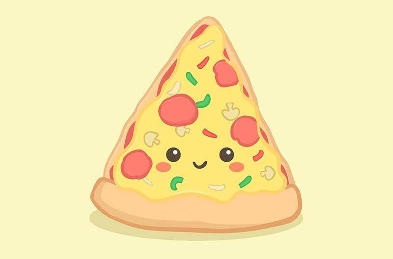 Pizza Kawaii En Imagenes Dibujos Para Colorear Y En Png Dibujos Kawaii Dibujos Kawaii Faciles Dibujo De Pizza
