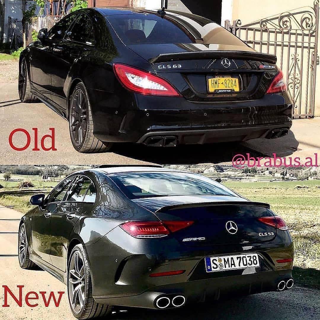 Mercedes Old And New Mercedes Cls 63 Amg Mercedes Mercedesamg
