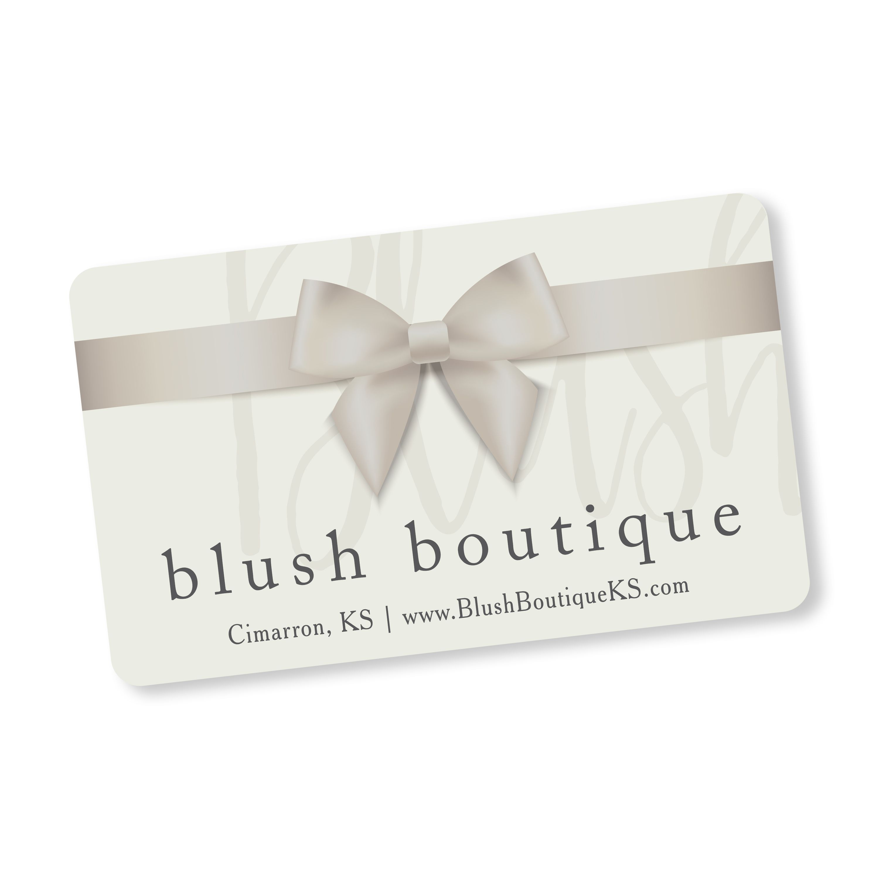 Blush Boutique gift cards always make the perfect gift!