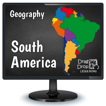 South america geography game for smartboard or pc south america smartboard south america geography for kids quickly teach the names and locations of all south gumiabroncs Choice Image