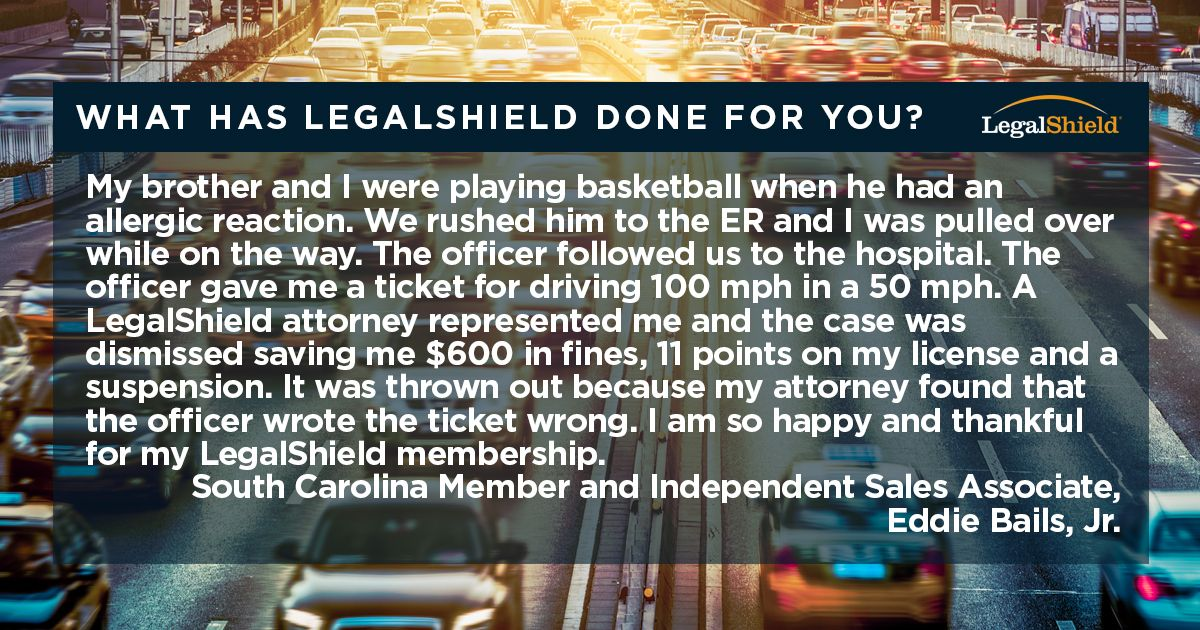 LegalShield has your back when you have your family's