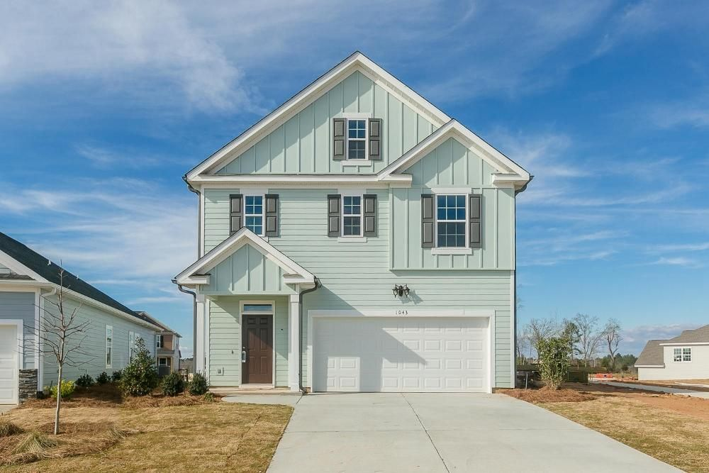 The 1684 Plan By Ivey Homes For Sale In Crawford Creek Evans Ga