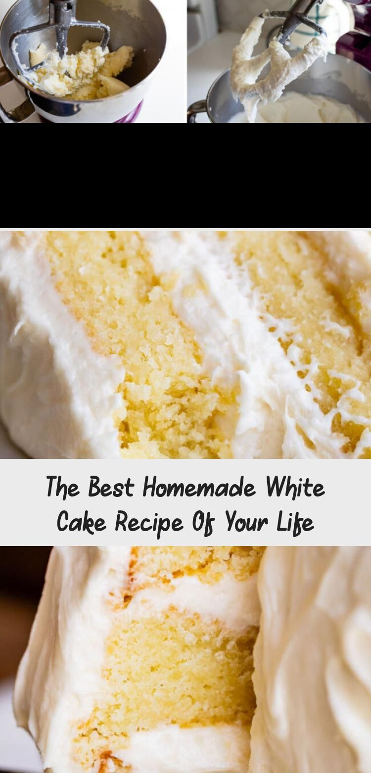 The Best Homemade White Cake Recipe Of Your Life From The Food Charlatan Hallelujah Finally A Moist W In 2020 White Cake Recipe Homemade White Cakes Moist White Cake