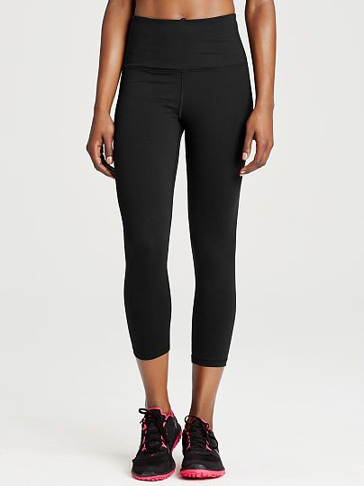 6f8d8be6f3891a Knockout by Victorias Secret High-rise Capri - Victoria's Secret Sport - Victoria's  Secret