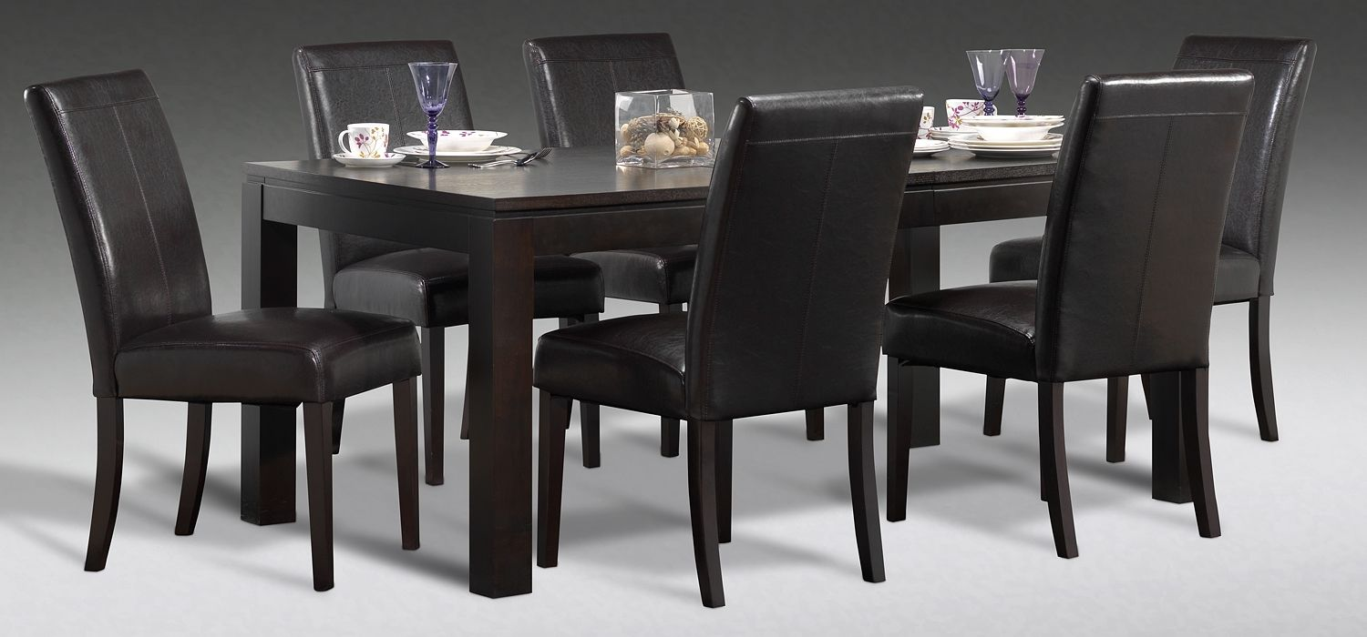 Gateau Dining Room 7 Pc Dining Set Leons With Images Dining Room Furniture Dining Home Decor