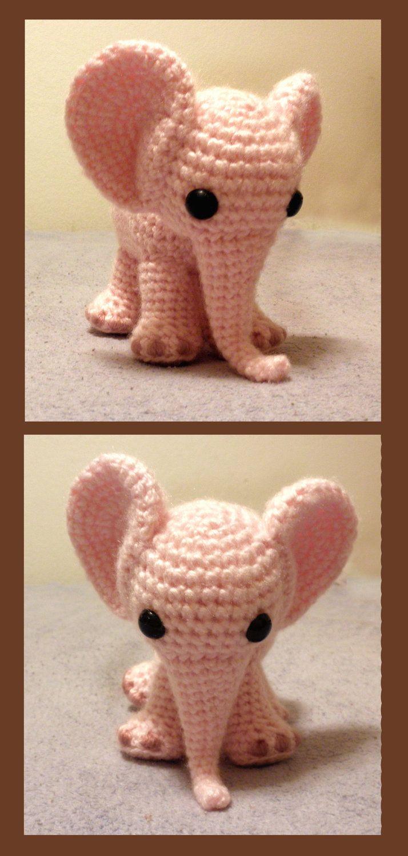 Ella the Elephant PDF Crochet Pattern by luvbug026 on Etsy, $4.99 ...
