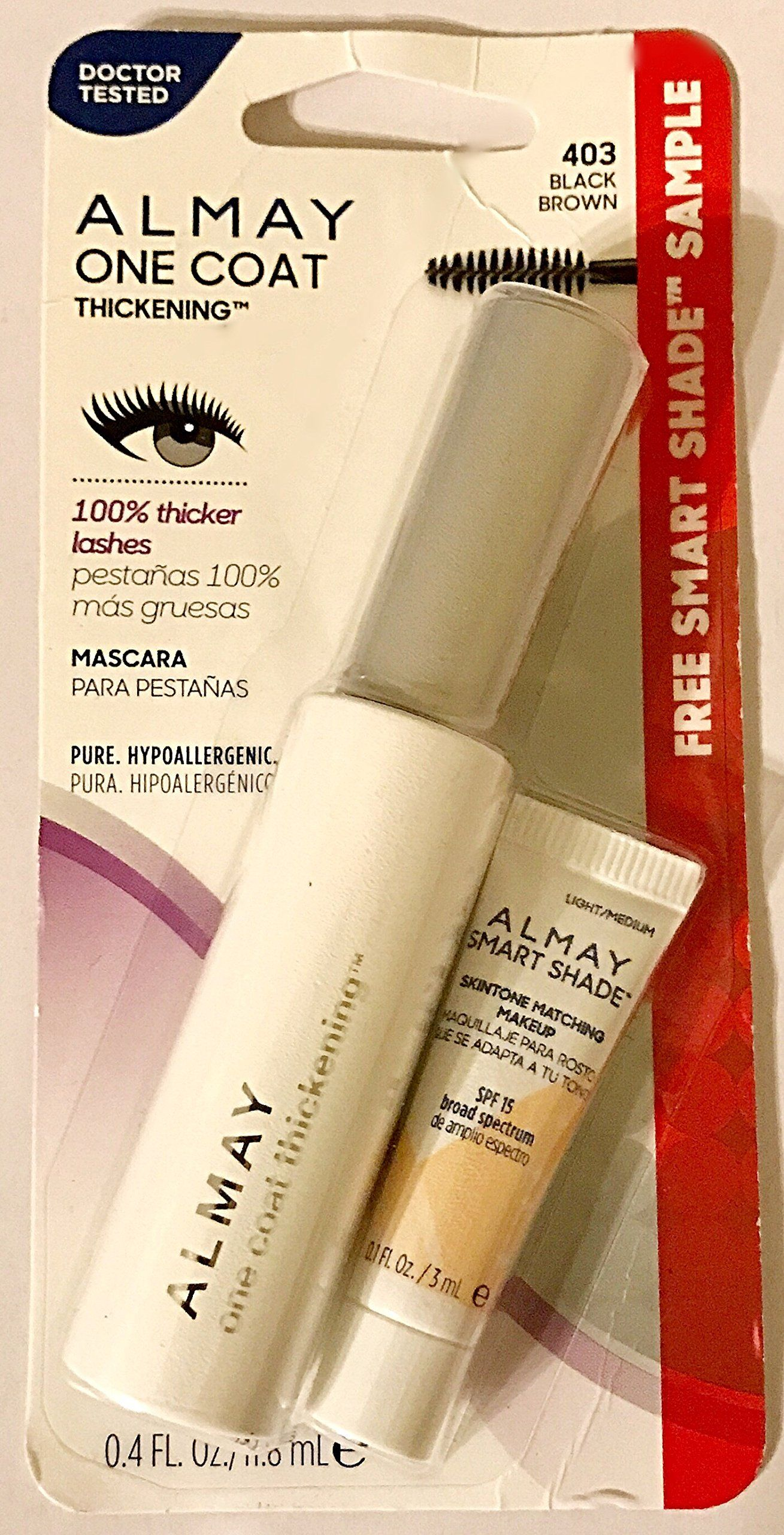 b668d15258f Almay One Coat Thickening Mascara * 403 Black Brown -- Click on the image  for additional details. (This is an affiliate link) #mascara