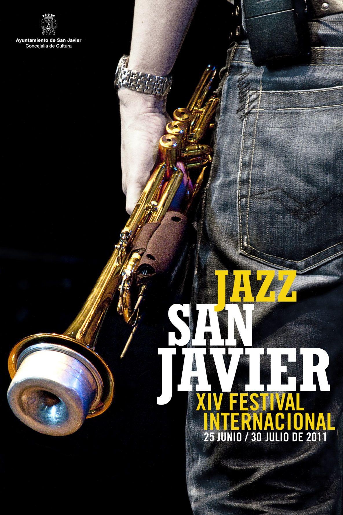 Cartel Jazz San Javier 2011 By Grafyco
