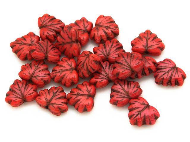 Happy Mango Beads - Czech Glass Beads 13mm (CZ1032), $6.50 (http://happymangobeads.com/czech-glass-beads-13mm-cz1032/)