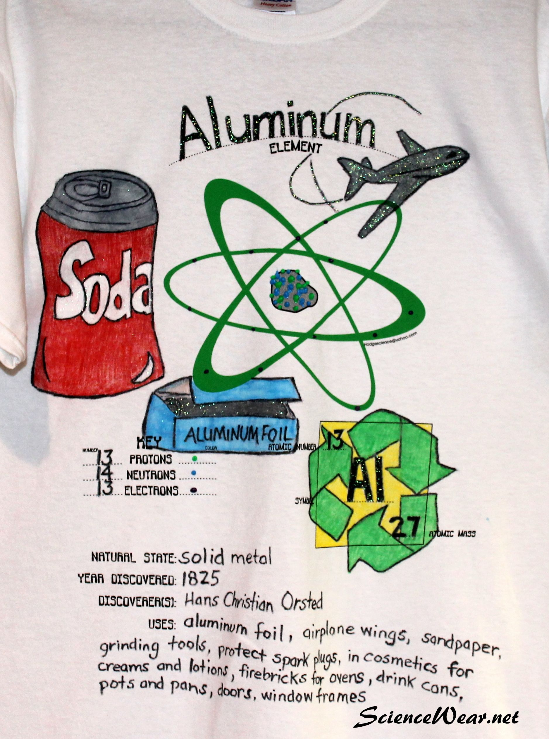 Adopt An Element Project Shirts 5 Come Prescreened