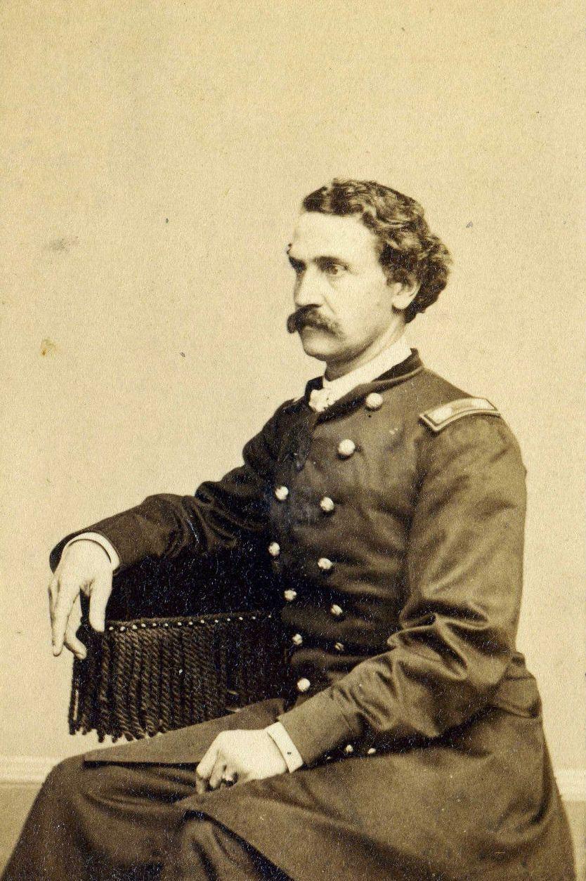 General Gouverneur Warren Civil War Cdv Photo C1863 Gettysburg