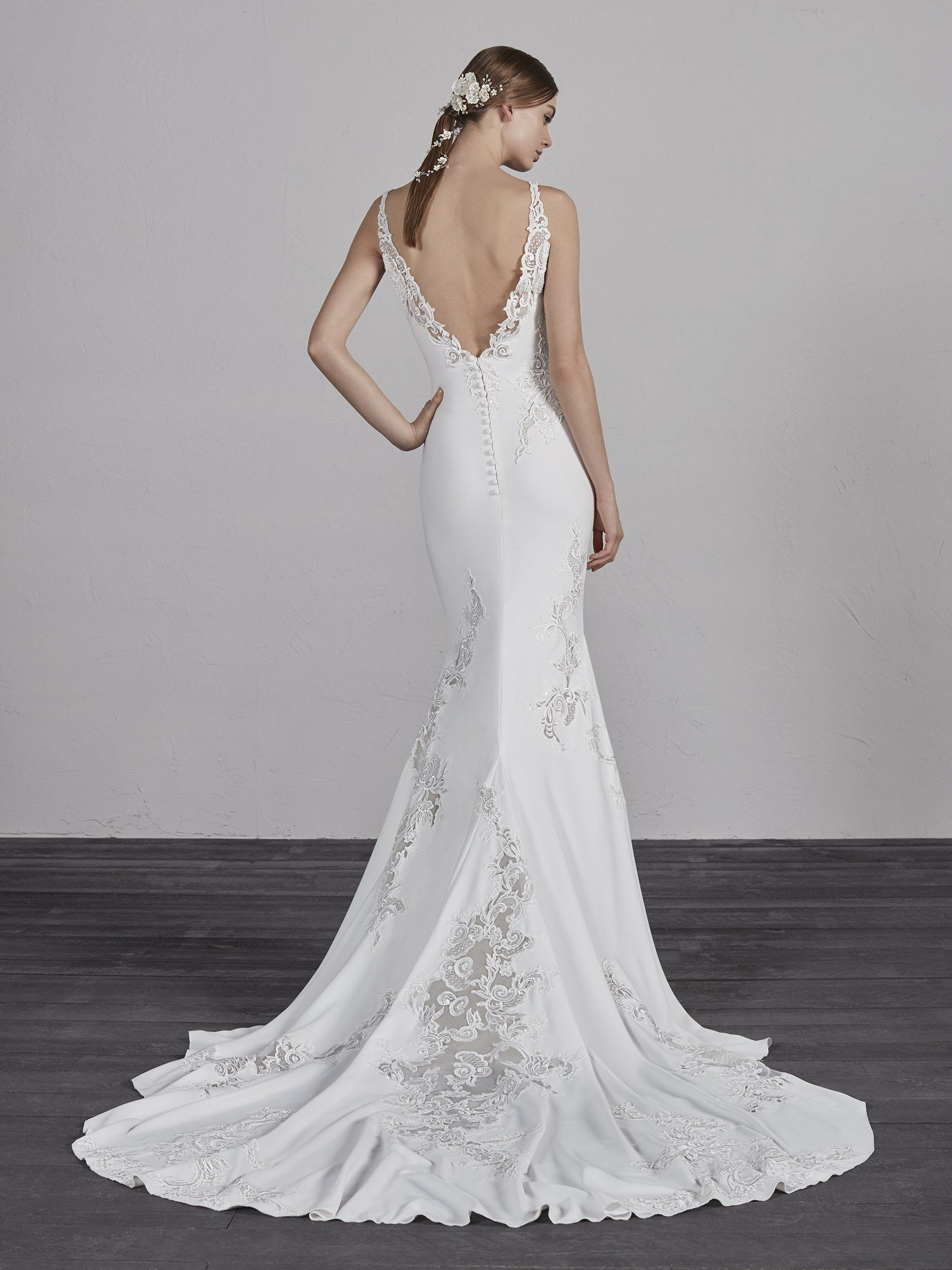 pronovias enya | wedding dress in 2019 | pronovias wedding