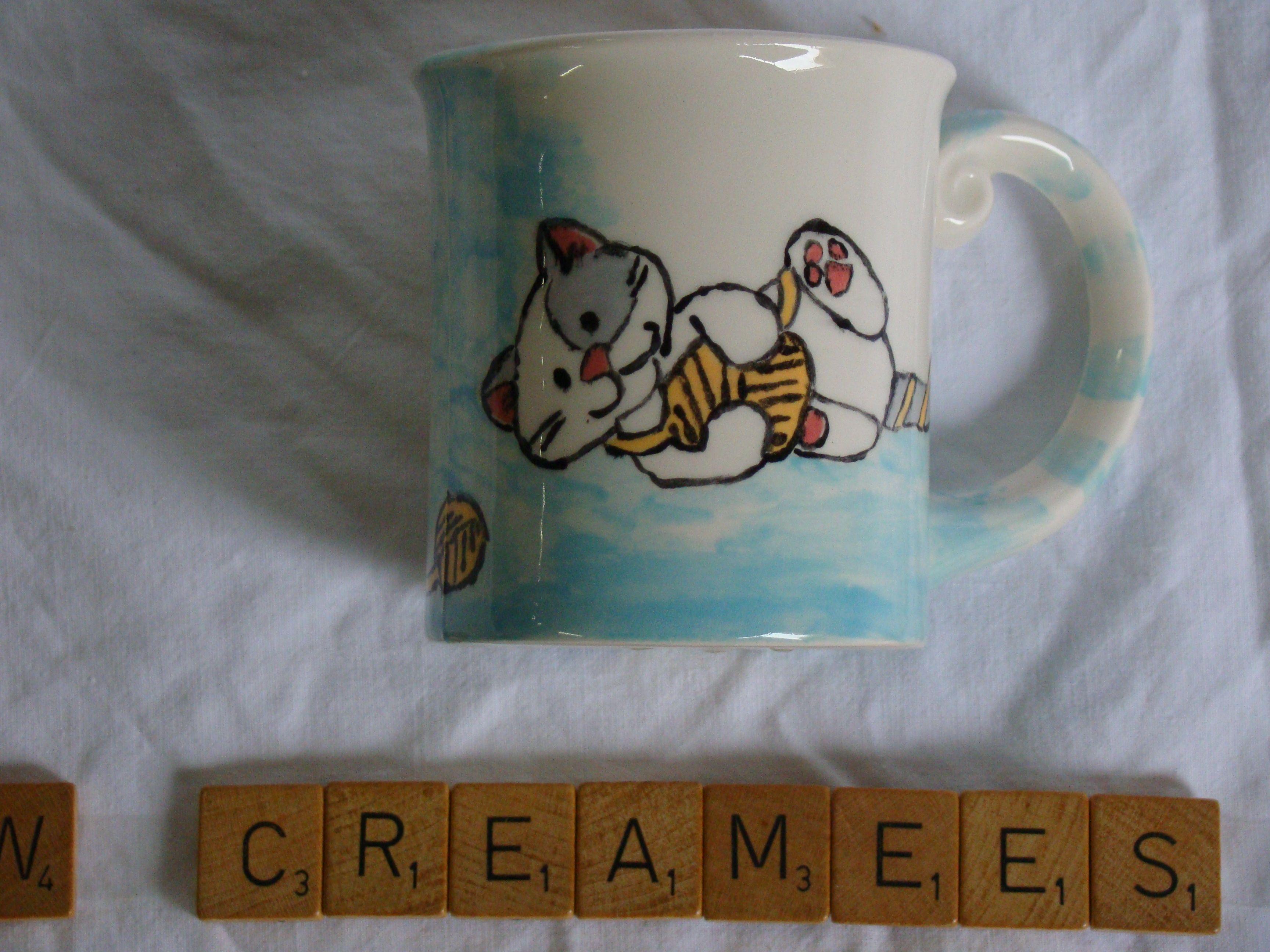 Pin Van Crea Mees Op Te Koop Katten Mugs Tableware En Kitchen