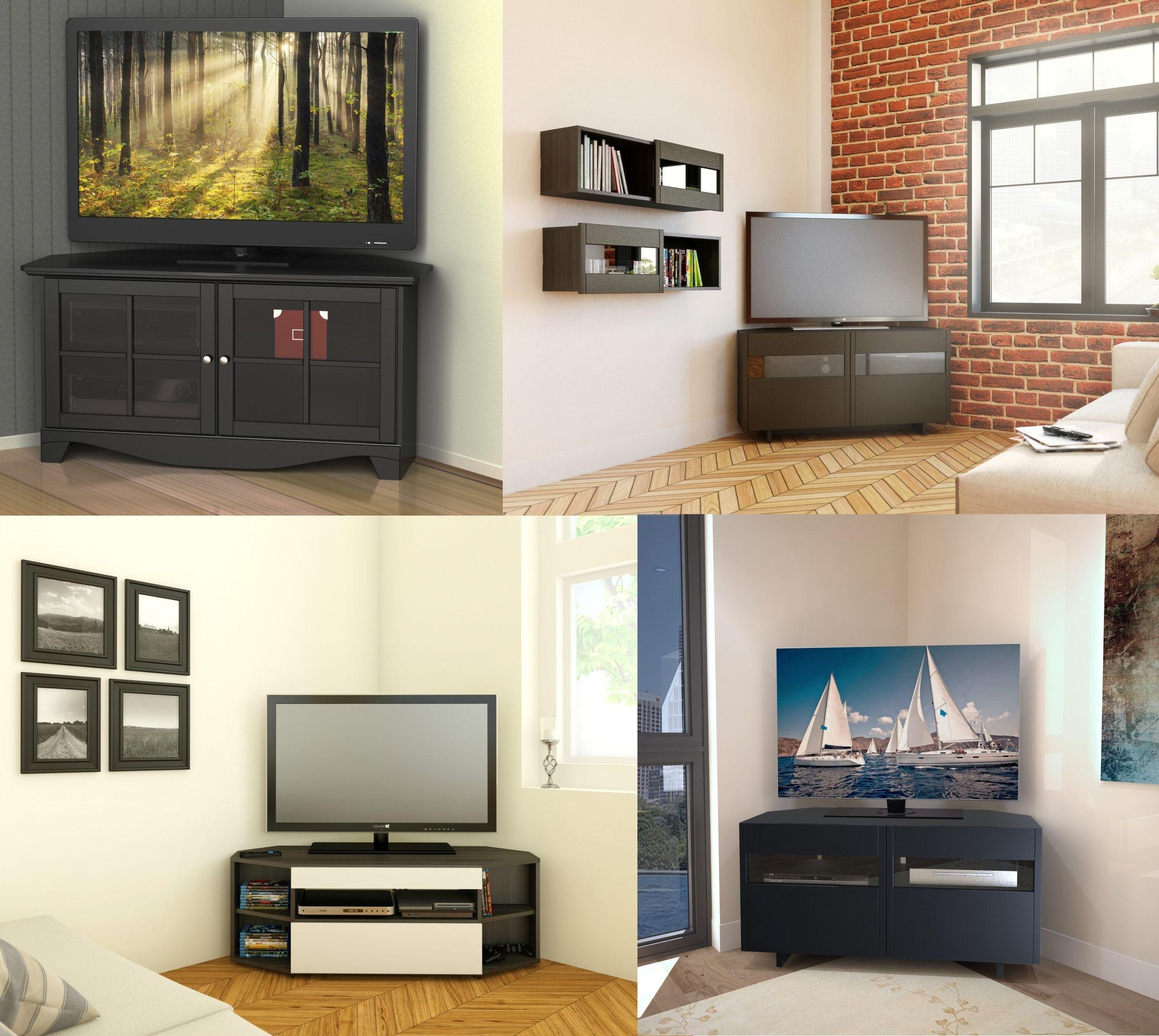 étourdissant meuble en coin tv | Décoration française | Pinterest