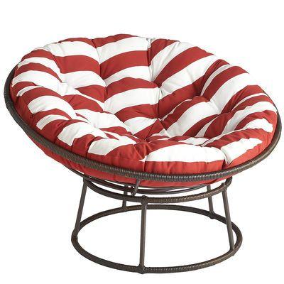 Outdoor Mocha Papasan Chair Frame Reading Chairs