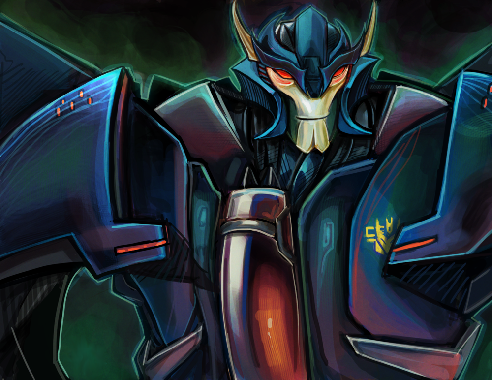 Transformers Prime Dreadwing | Transformers Artwork ...