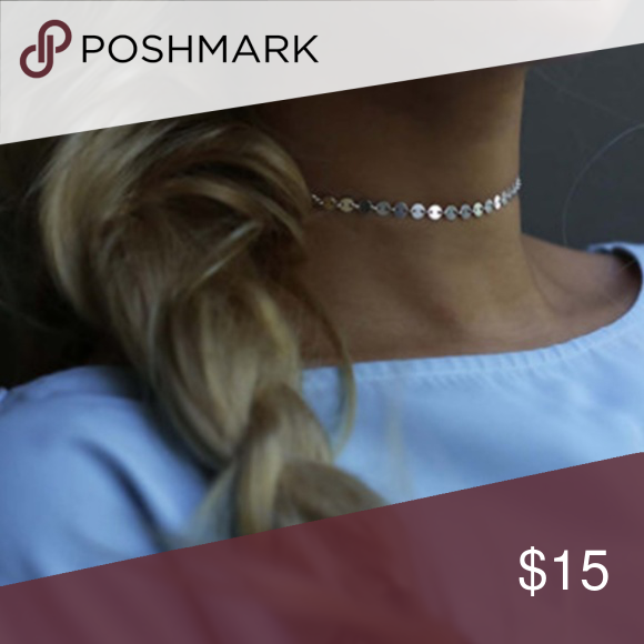 Photo of 3 for $ 20 Silver Poppy Sequin Choker ? NEW Poppy Sequin Choker Trendy Silver …