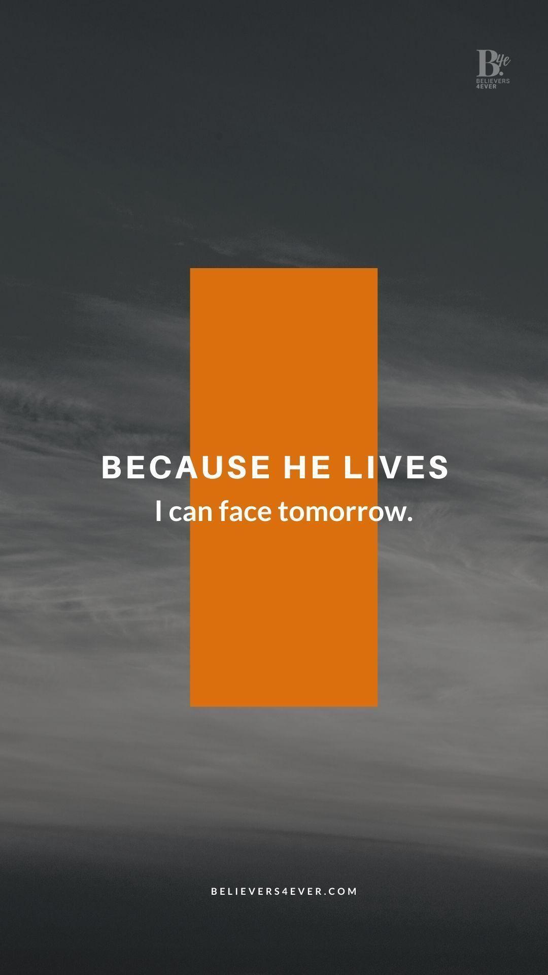 Because He Lives Because He Lives Worship Wallpaper Christian Wallpaper Hd