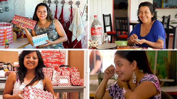 Artisans represent an important segment of the Coca-Cola value chain and its 5by20 women's economic empowerment initiative.